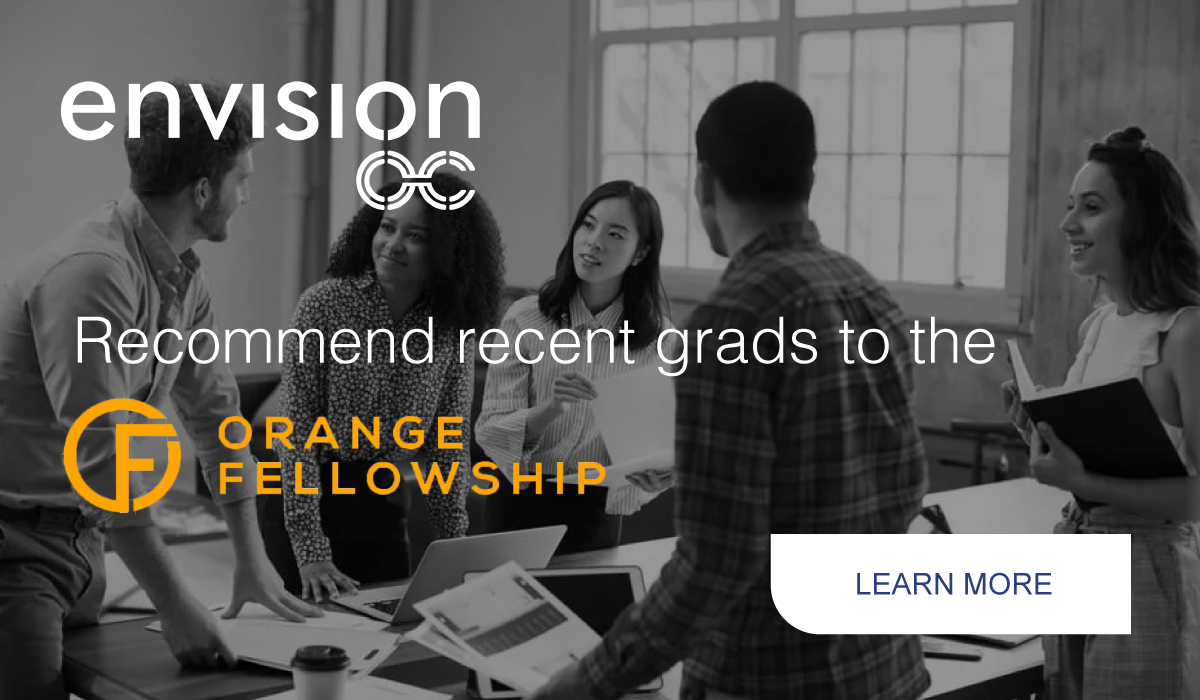 EnvisionOC: Working For a Better Future. Showcasing the opportunities that are available in Orange County for your career, enterprise, and lifestyle.